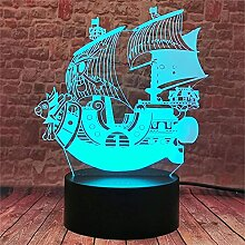 3D Nachtlicht für Kinder 3D Lampe mit 16 Farben 2