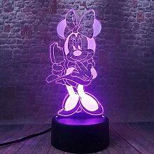 3D Nachtlicht Illusionslicht 3D Illusion LED