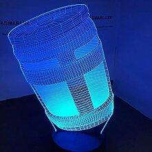 3D Nachtlicht Krug 3D Led Lampe Nacht Lampe Tisch
