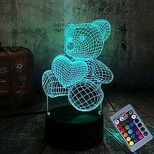 3D Nachtlicht LED Nachtlicht Nachtlicht Kinder