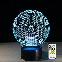 3D-Nachtlicht mit optischer Täuschung von Real