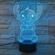 3D Nachtlicht Nachtlampe Schlaflicht Cartoon