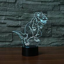 3D Nachtlicht Nachtlicht Der Dinosaurier-3D