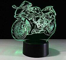 3DnachtlichtNew TractorLampe 7 Farbe Led