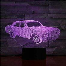 3D Nachtlicht Papa Geschenke 7 Farben ändern 3D