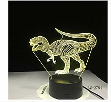 3D Nachtlicht Pterosaurs Dragon 3D Led Lampe