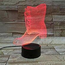 3D Nachtlicht Schreibtisch 3d Lampe Acryl 3d