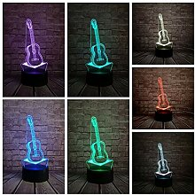 3D Nachtlicht Traktor NeueLampe 7 Farbe Led