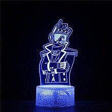 3D-Nachtlichter, Festungsspiel,
