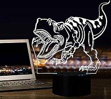 3D Nachtlichter für Kinder, 7-Farbwechsel