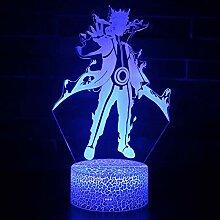 3D Nachtlichter, Japan Anime NARUTO