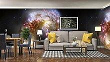 3D Nebel Galaxie 217 Tapeten Drucken Abziehbild
