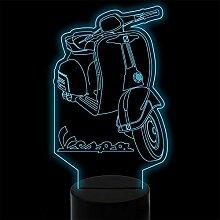3D Night Light7 Farben Ändern 3D Visuelle Roller