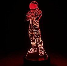 3D Night lightTable Lampe Fortnight Game Bedside