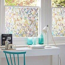 3D No Glue Fenster Sichtschutz Folie statisch