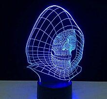 3D Optical Illusion Lampe Led Nachtlicht 7 Farbe