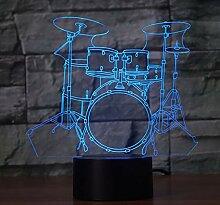 3D Optical Illusion Lampe Led Nachtlicht Kreatives