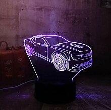 3D Optical Illusion Lampe Led Nachtlicht Moderne