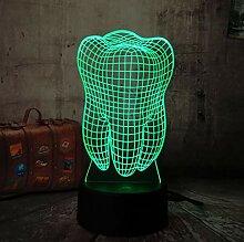 3D Optical Illusion Lampe Led Nachtlicht Neue 3D