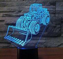 3D Optical Illusion Lampe Led Nachtlicht Neue