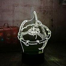 3D Optical Illusion Lampe Led Nachtlicht Neues