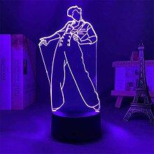 3D Optische Illusion Lampe Harry Styles B 3D