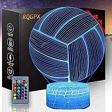 3D Optische Illusion Nachtlicht Basketball Touch