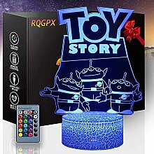 3D Optische Illusionslampe Toy Story 3D Illusion
