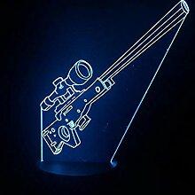 3D Optische Täuschung Lampe 3D LED Nachtlicht 7