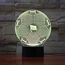 3D Optische Täuschung Nachtlicht Hertha BSC