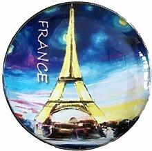 3D Paris Frankreich Kühlschrank