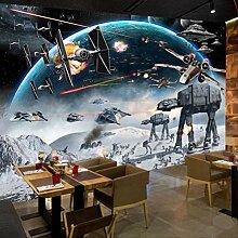 3d Photo Tapete Cartoon Star Wars Kinder Zimmer