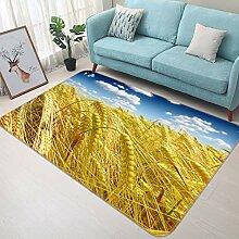 3D Rice 380 Rutschfest Teppich Matte Raum Matte