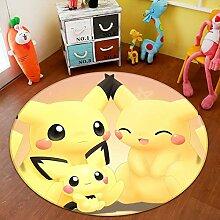 3D Rug Mat for Pokemon Pikachu 234 Japan Anime