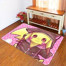 3D Rug Mat for Pokemon Pikachu Lovely 103 Japan