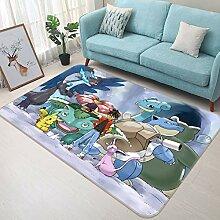 3D Rug Mat for Pokemon Pikachu Monsters 074 Japan