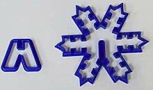 3D Schneeflocke Weihnachten Urlaub Ausstechform
