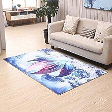 3D schöne rutschfeste Schlafzimmer Teppich Matratze Haushalt rechteckig ( Farbe : 7# , größe : 120*180cm )