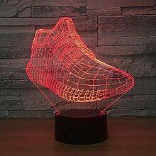 3D Schuhe Lampe Illusion Optische Led Täuschung
