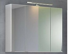 3D-Spiegelschrank Badschrank Hängeschrank Spiegel