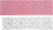 3D Spitze Silikon Fondant Formen Kuchen dekorieren Styling-Werkzeuge