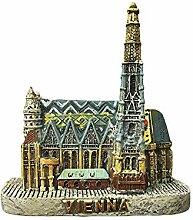 3D Stephansdom Wien Österreich Kühlschrank