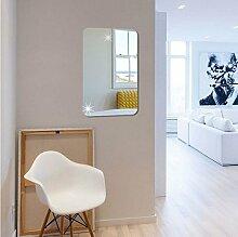 3D-Stereo-Acryl-, Rechteck-Spiegel Wand-,