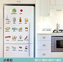 3D Stereo Kühlschrank Aufkleber dekorative