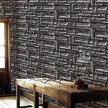 3D Stereo Marmor Tapete Wand Garment Shop-Wand-Hintergrund-Tapete,Darkblue