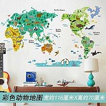 3D Stereo Wandaufkleber Cartoon Kinderzimmer