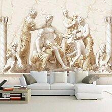 3D stereoskopische europäische römische Statue