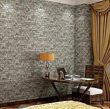3D stereoskopische Retro-Tapete PVC-Ziegel Tapete Breite 0.53m lange 10m Haus Dekoration Tapete 4 Farbe , 3