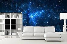 3D Sternenhimmel Galaxie 205 Tapeten Drucken