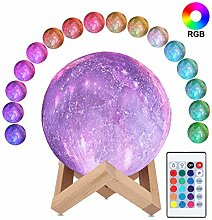 3D Sternenhimmel Mondlampe, ALED LIGHT RGB 16